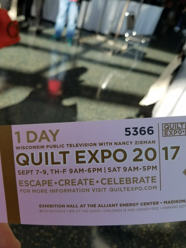 Quilt Expo Quilting Shenanigans